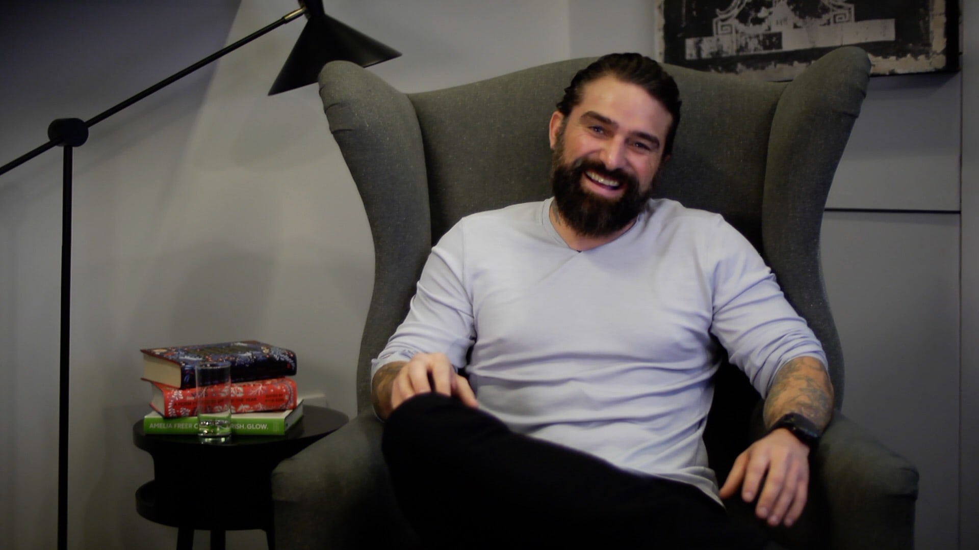 Filming with Channel 4's Ant Middleton