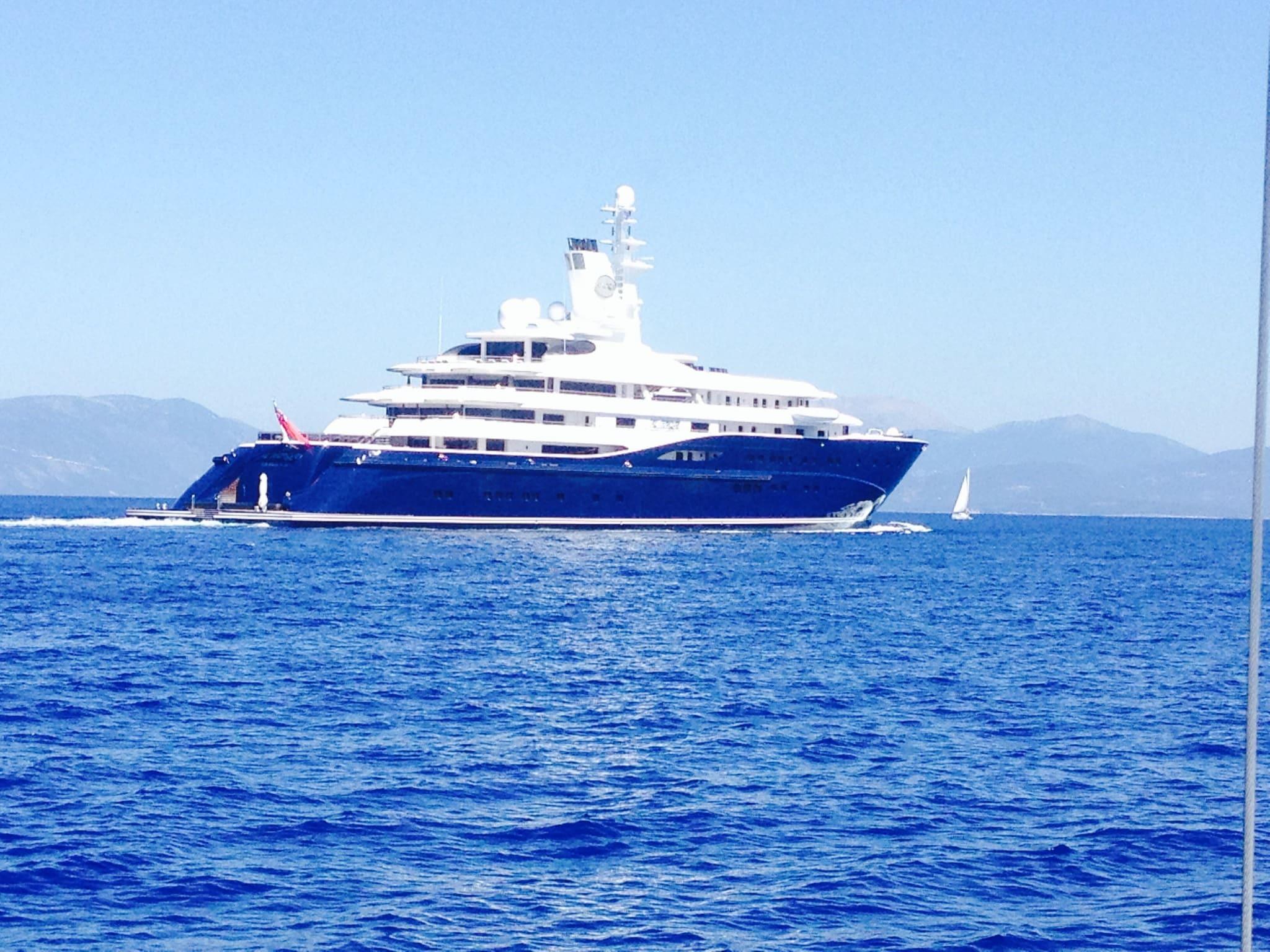 Sailing holidays filming