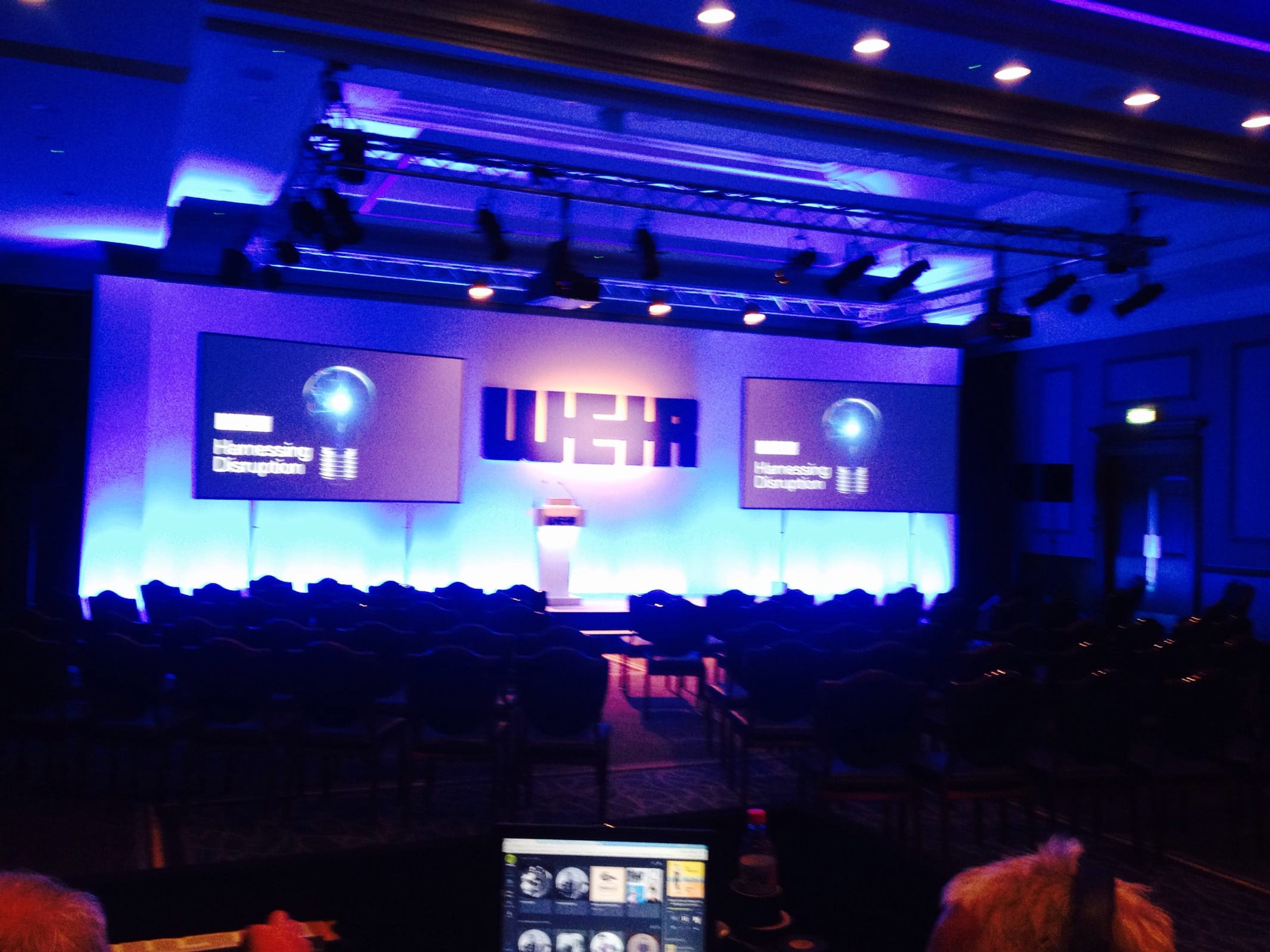 Weir conference at Gleneagles