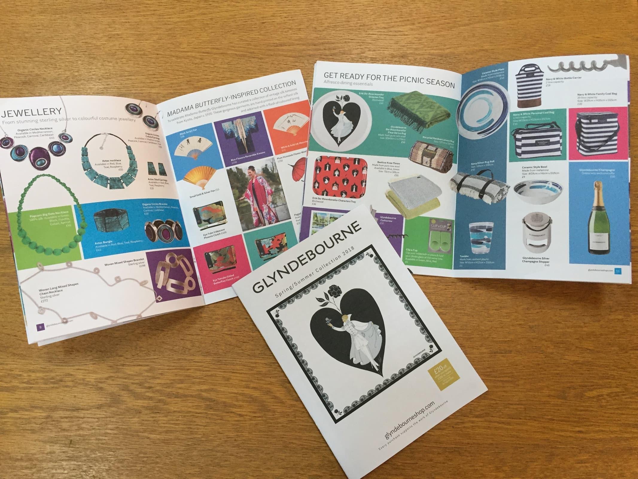 Glyndebourne Brochure Design