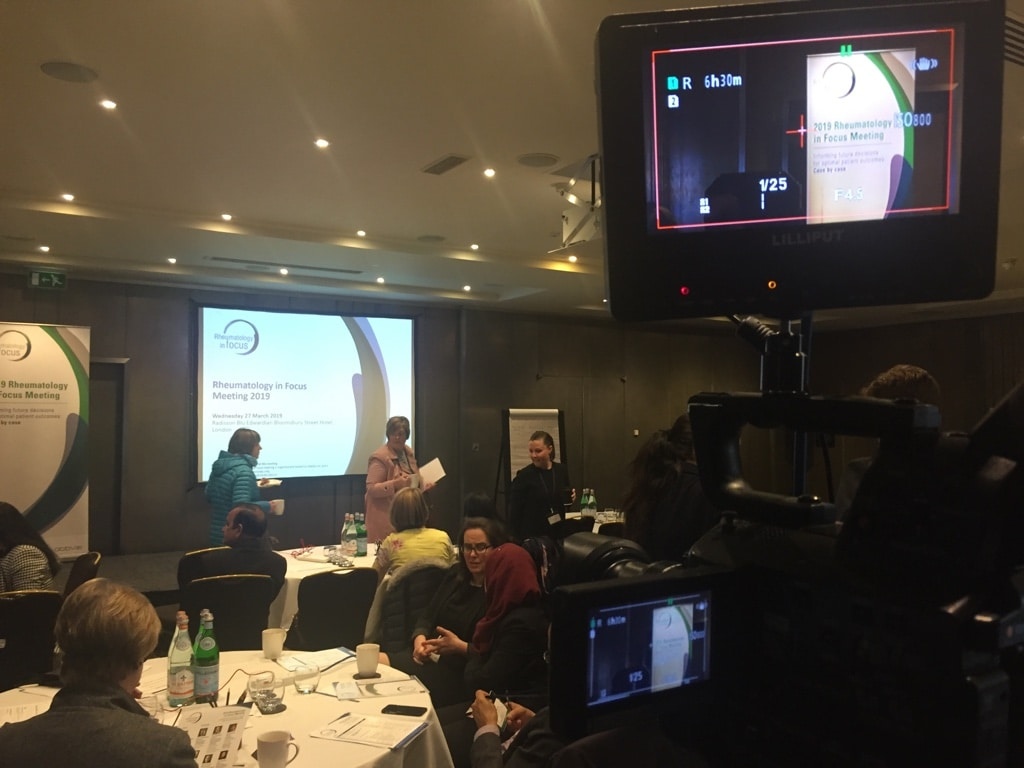 London Medical Conference Filming