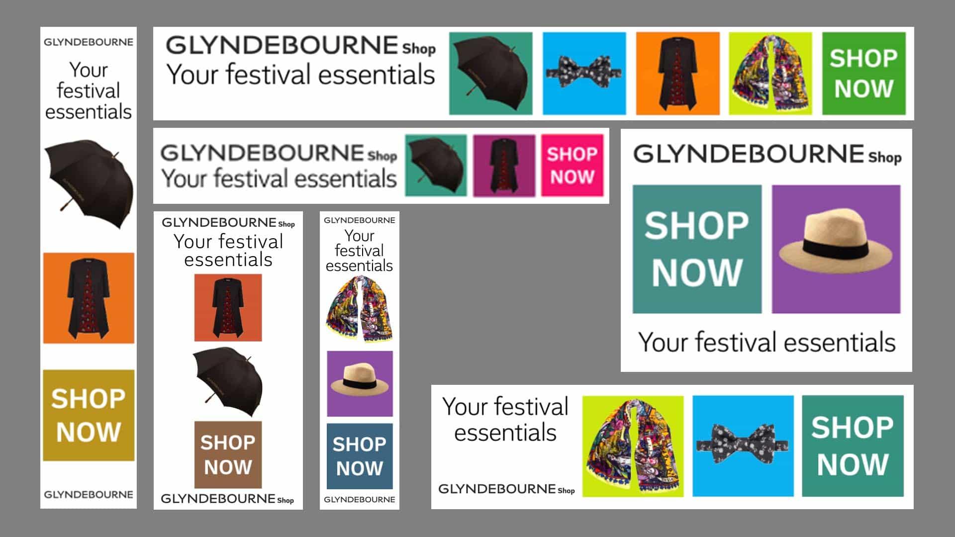 Online advertising, online marketing for Gyndebourne Opera