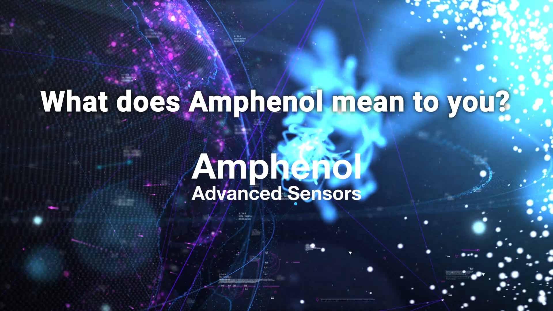 Amphenol Las Vegas Conference Video